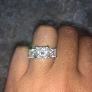 Wedding Ring engagement ring cz